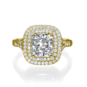 1.7 Carat 14K Yellow Gold Diamond
