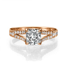 "Load image into Gallery viewer, 1.2 Carat 14K Yellow Gold Diamond ""Paris"" Engagement Ring"