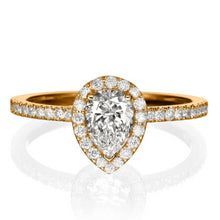"Load image into Gallery viewer, 1 Carat 14K Yellow Gold Diamond ""Philippa"" Engagement Ring"