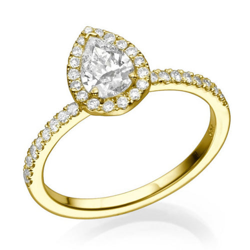 1 Carat 14K Yellow Gold Diamond