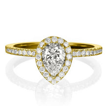 "Load image into Gallery viewer, 1 Carat 14K White Gold Diamond ""Philippa"" Engagement Ring"