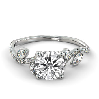 1.2 Carat 14K White Gold Diamond