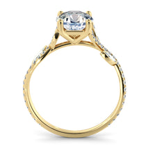 "Load image into Gallery viewer, 1.2 Carat 14K White Gold Diamond ""Lucia"" Engagement Ring"
