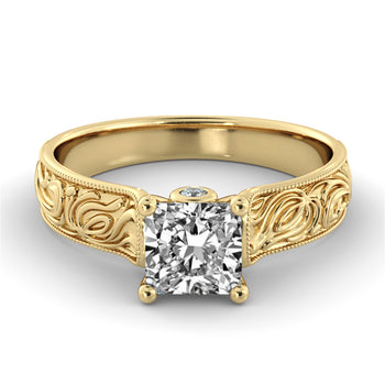 2 Carat 14K Yellow Gold Diamond
