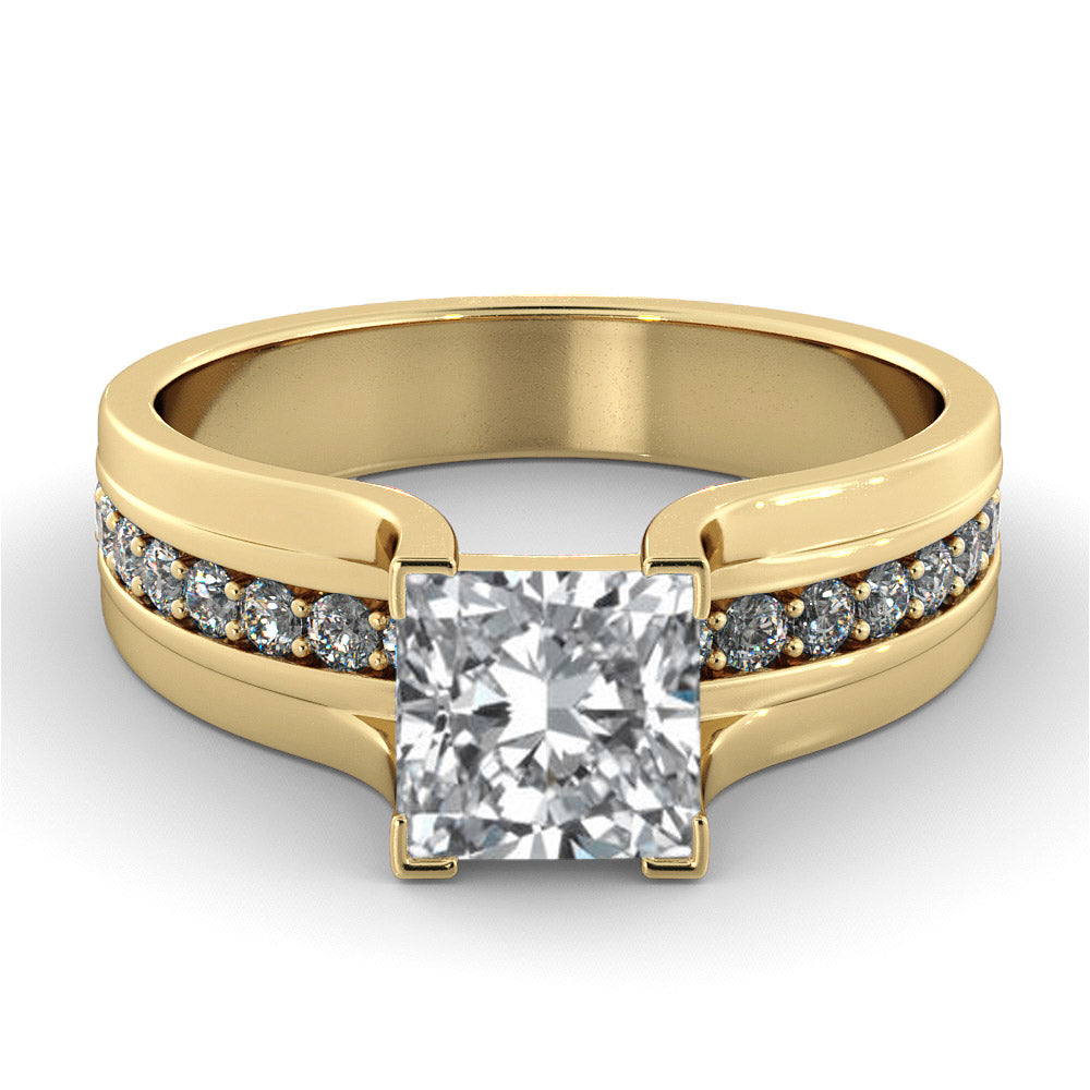 2.2 Carat 14K Yellow Gold Diamond