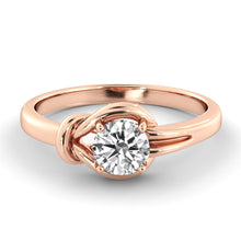 "Load image into Gallery viewer, 1 Carat 14K Yellow Gold Diamond ""Laura"" Engagement Ring"