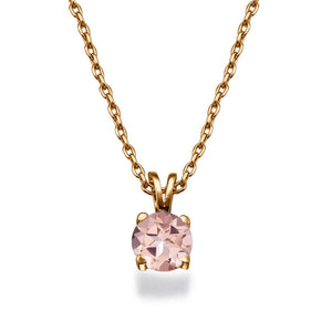 "1.5 Carat 14K White Gold Morganite ""Una"" Pendant"