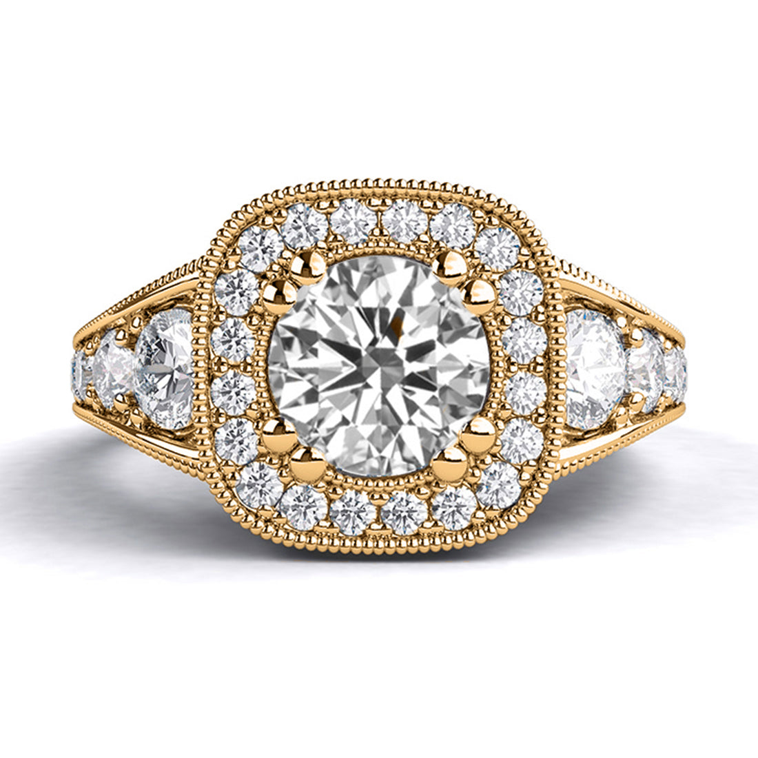1.8 TCW 14K Rose Gold Diamond
