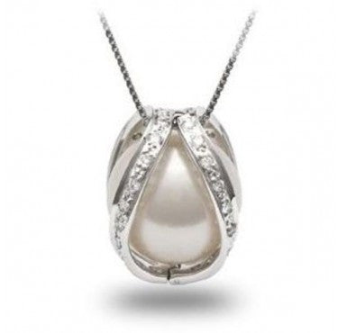 Pearl Pendant 14k Gold - Diamonds Mine