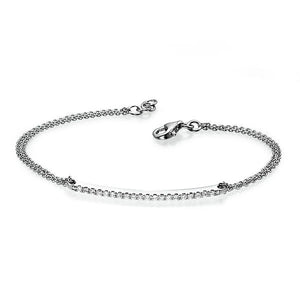 "0.2 TCW 14K White Gold Diamond ""Sandra"" Bracelet"