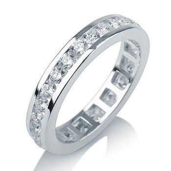 1.4 TCW 14K White Gold Diamond