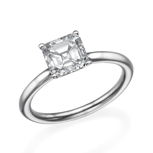 1.3 Carat 14K White Gold Moissanite