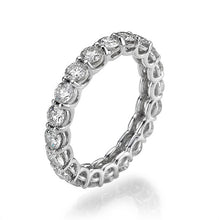 "Load image into Gallery viewer, 2.20 TCW 14K White Gold Diamond ""Ines"" Wedding Ring"