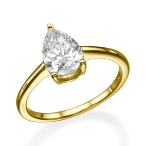 "1.5 Carat 14K Rose Gold Diamond ""Marta"" Engagement Ring"
