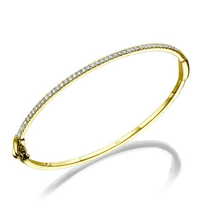 "0.5 TCW 14K Yellow Gold Diamond ""Maya"" Bracelet"