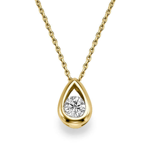 0.5 TCW 14K Yellow Gold Diamond