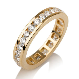 1.4 TCW 14K Yellow Gold Diamond