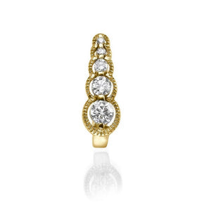 "0.66 TCW 14K Yellow Gold  Diamond ""Alanna"" Earrings"