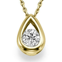 "Load image into Gallery viewer, 0.5 TCW 14K White Gold Diamond ""Janey"" Pendant"