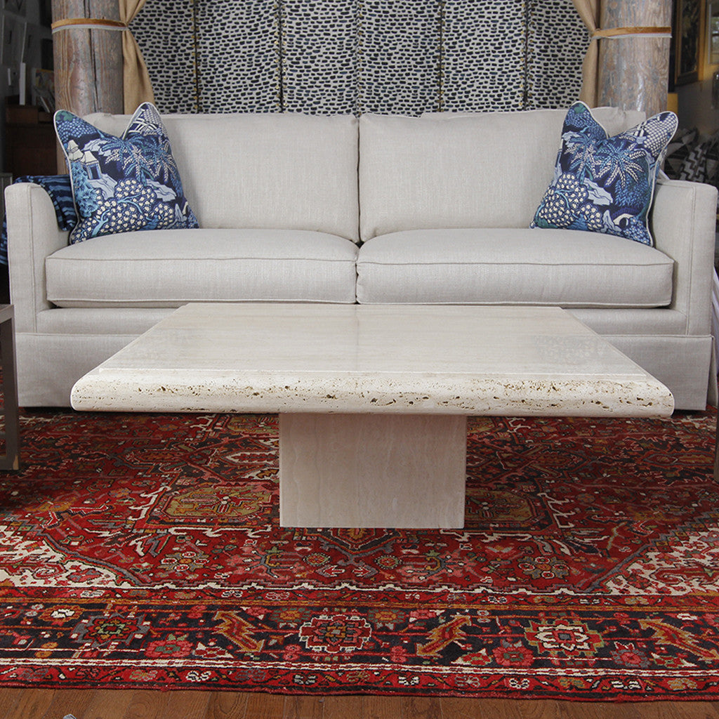 Vintage Limestone Coffee Table