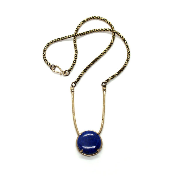 Laurel Hill Jewelry: Amla Necklace in Lapis