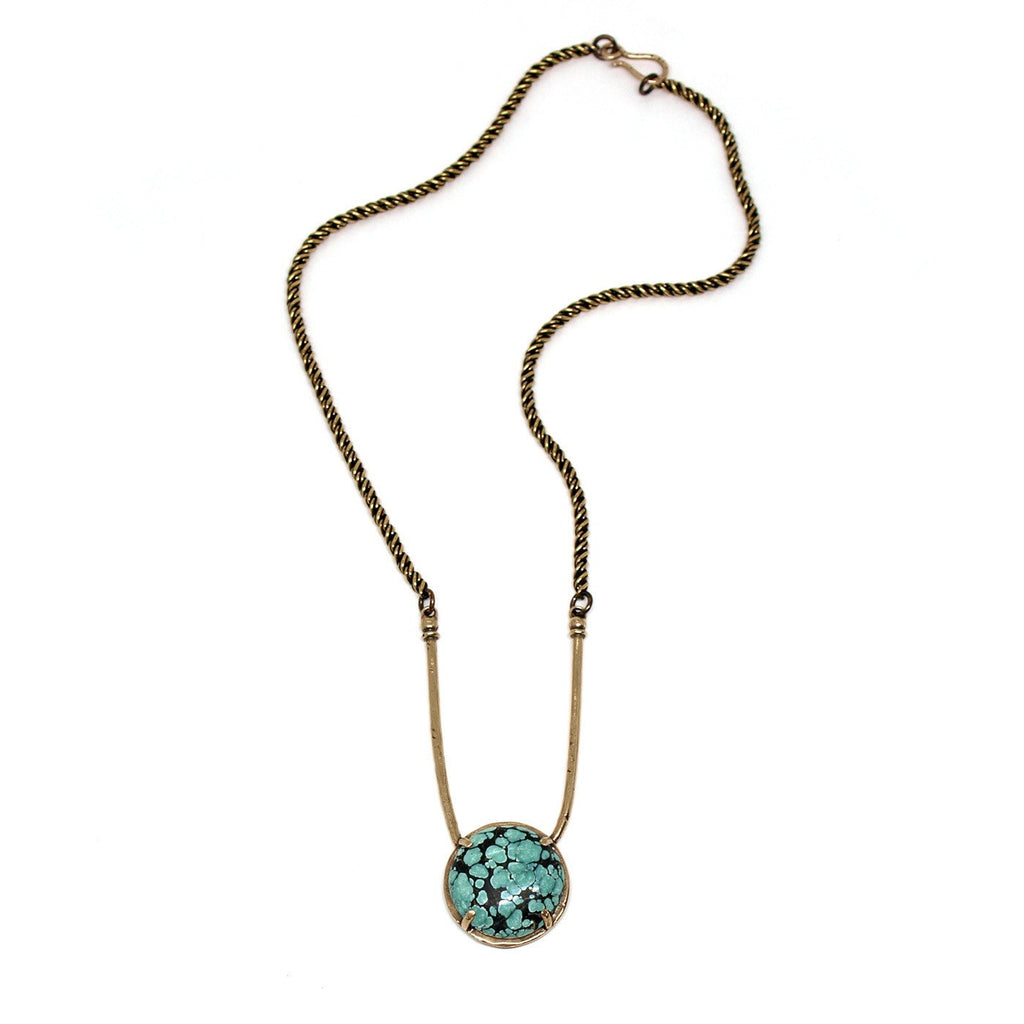 Laurel Hill Jewelry: Amla Necklace in Turquoise
