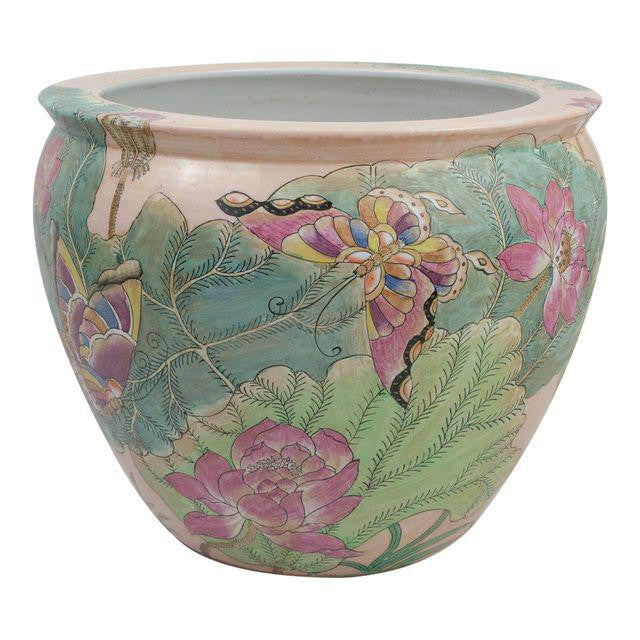 Antique Chinese Porcelain Fish Bowl Planter Bma At Home