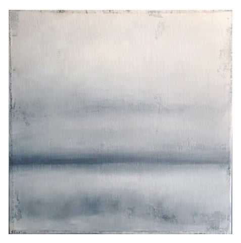 "Cecel Allee - Tranquil Horizon - 40""x40"" Painting on Panel"