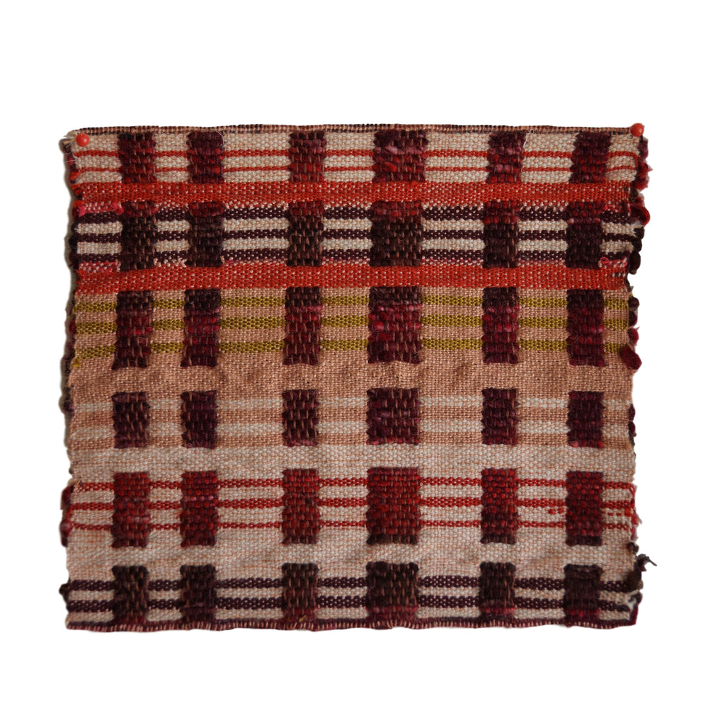 "Custom Weaving by Maddie Zerkel (8"" x 8"")"