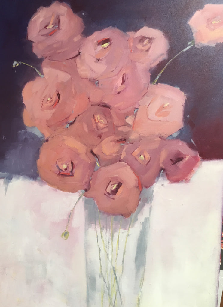 "Chris Shockley ""French Bouquet"" 30""x40"" on Canvas"