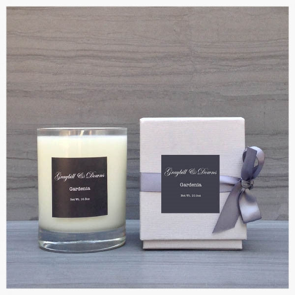 Graybill and Downs Gardenia Candle