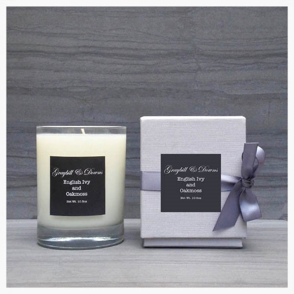 Graybill and Downs English Ivy and Oakmoss Candle