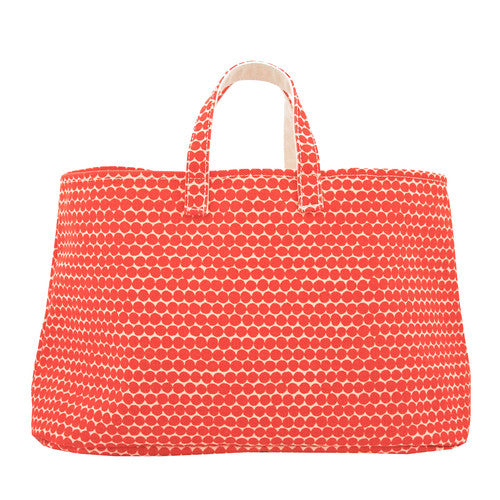Hable Construction Bucket Bag in Clementine