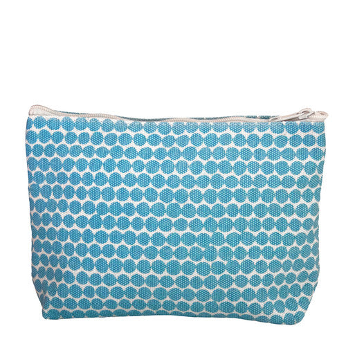 Hable Construction Large Cosmetic Bag in Ocean