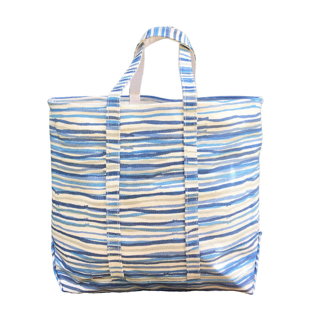 Hable Construction Large Boat Tote in Sea Stripe