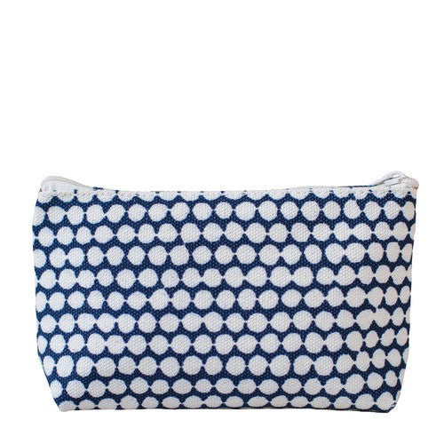 Hable Construction Medium Cosmetic Bag in Navy