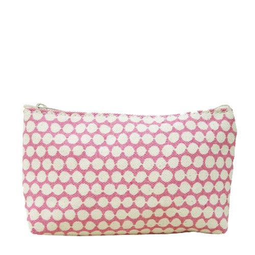 Hable Construction Medium Cosmetic Bag in Rose