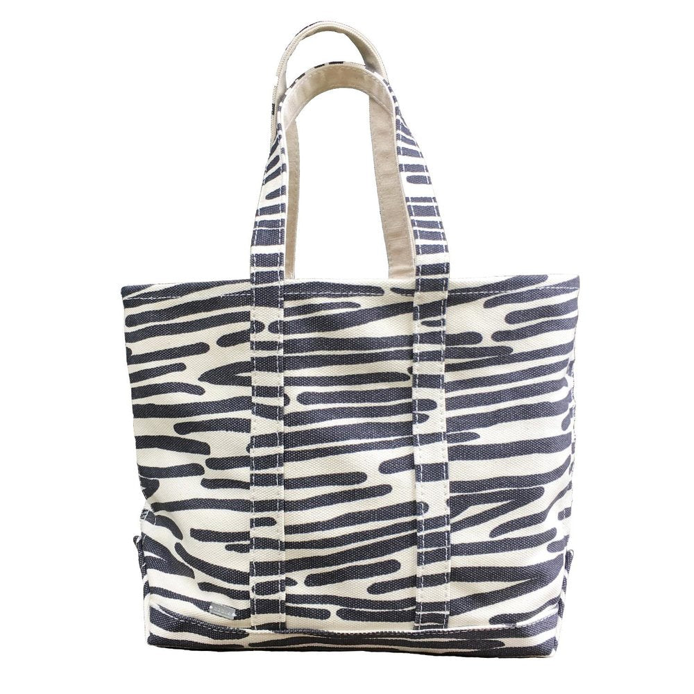 Hable Construction Medium Boat Tote in Charcoal Sails