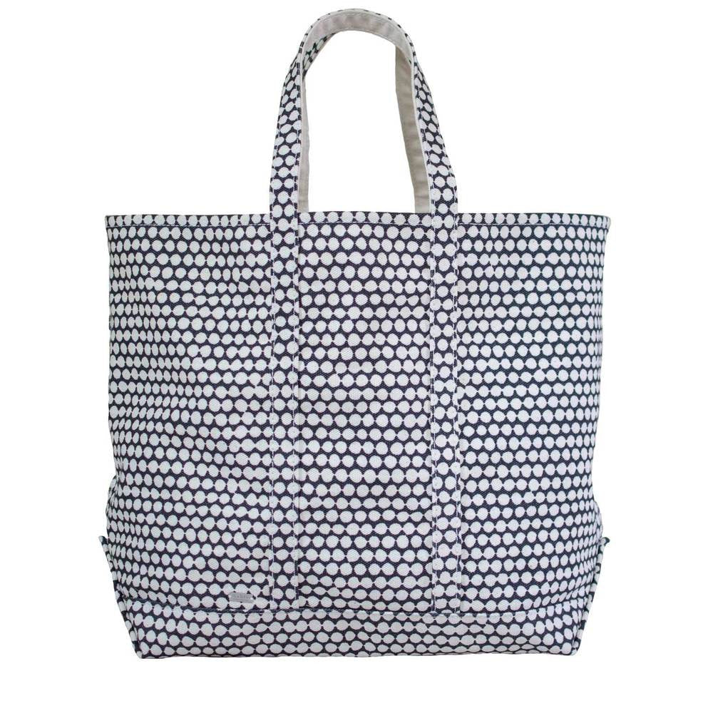 Hable Construction Large Boat Tote in Charcoal Checker
