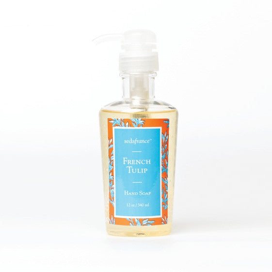 Seda France Classic Toile 12 oz Liquid Hand Soap- French Tulip
