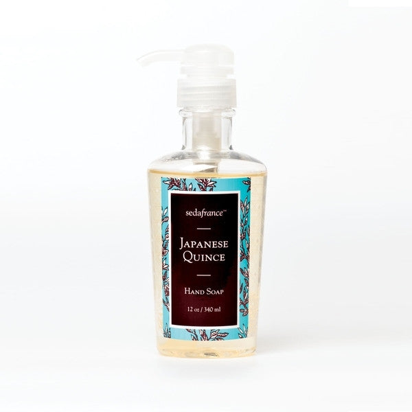Seda France Classic Toile 12 oz Liquid Hand Soap- Japanese Quince