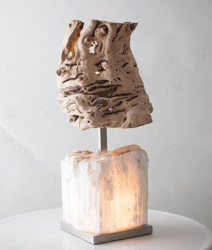 Stalagmite Table Lamp by Mineral Forest