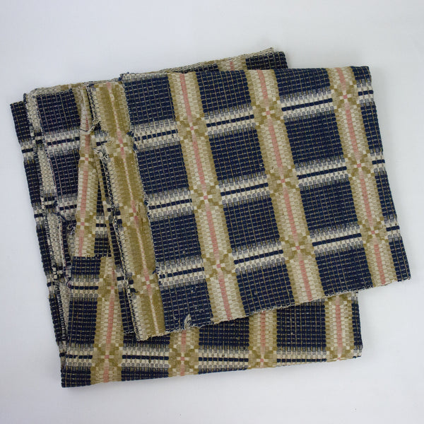 Double Loomed Vintage Textile
