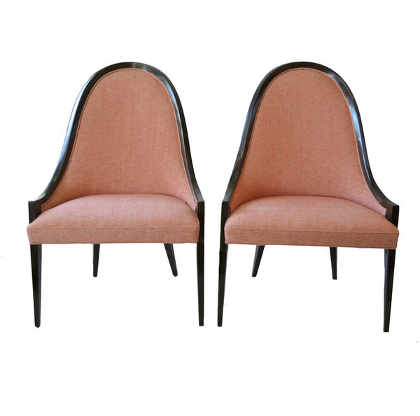 Vintage Harvey Probber Gondola Chairs- A Pair