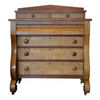 Antique Birds Eye Maple and Cherry Dresser