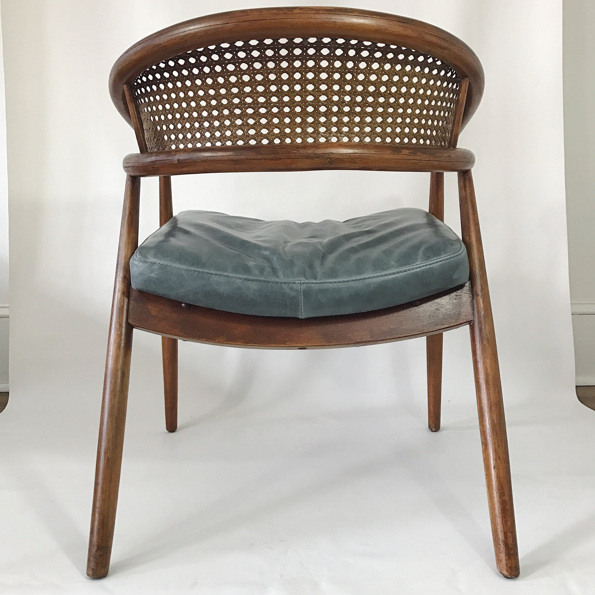 "Mid Century Modern James Mount ""King Cole"" Lounge Chair a pair"