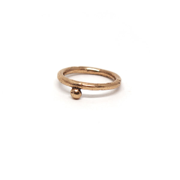 Laurel Hill Jewelry: Osha Stacking Ring in Bronze