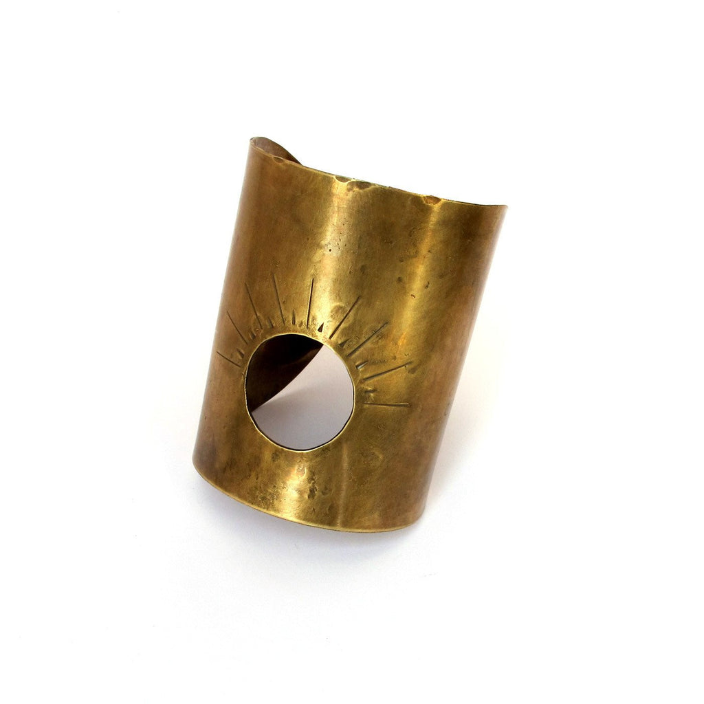 Laurel Hill Jewelry: Passage Cuff in Brass