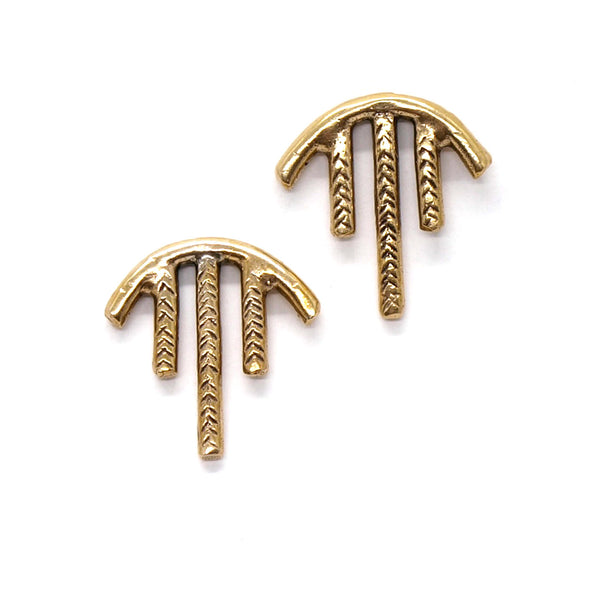 Laurel Hill Jewelry: Sky Studs in Bronze