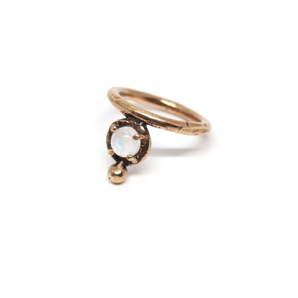 Laurel Hill Jewelry: Uva Ursi Ring in Moonstone
